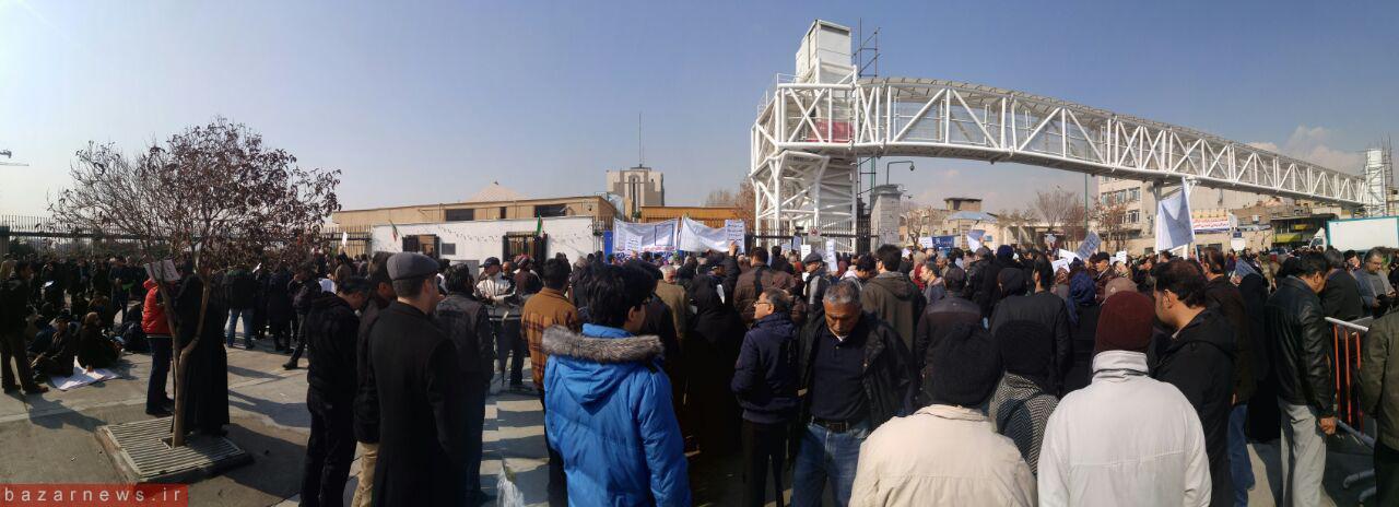 اخرین اخبار کاسپین تجمع اعتراض آمیز سپرده گذاران کاسپین مقابل مجلس - Bourse News