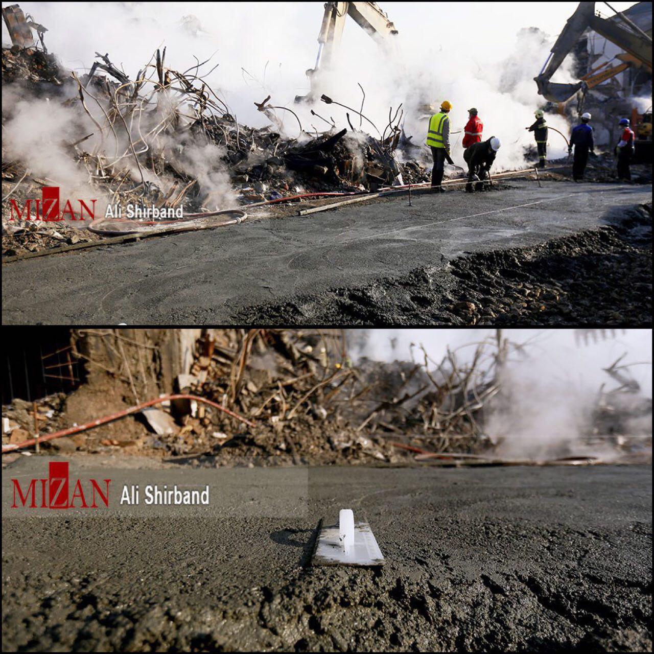 آخرین اخبار حادثه پلاسکو + عکس و فیلم