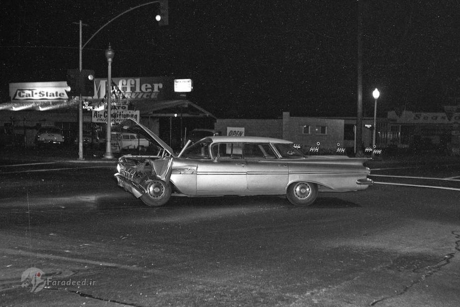 تصادف پنجاه سال پیش در آمریکا (آلبوم عکس)