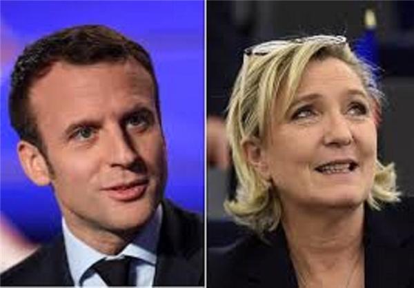 ماکرون و لوپن به دور دوم انتخابات ریاست جمهوری 2017 فرانسه راه یافتند