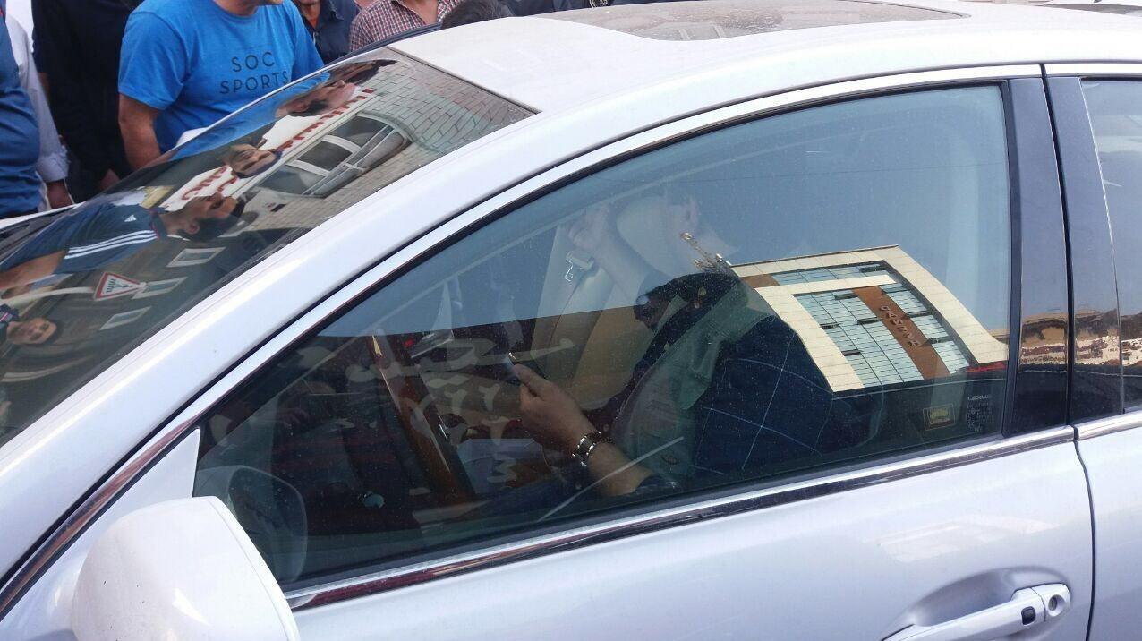بازداشت مالک باشگاه نفت تهران در مرزداران+عکس