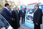 مجموعه کامل تصاویر بازدید روحانی از خودروهای برقی